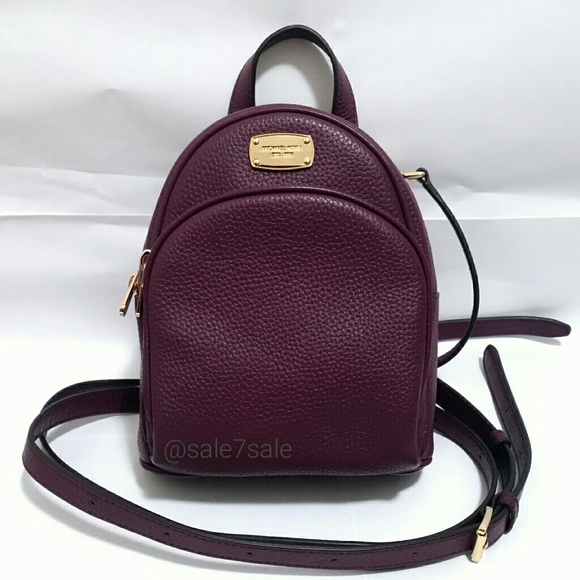 1e4d798a2f 🔴FIRM 😍NWT MK Leather XS Abbey Backpack book Bag